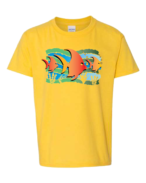 Fish Under The Sea Daisy Toddler Tee
